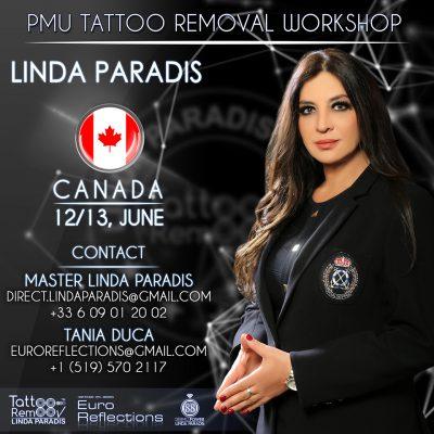 PMU tattoo removal workshop with Linda Paradis